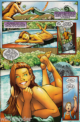 "Titans, Dc Comics - Starfire ""nude"" Sunbathing Issue Vf/nm"