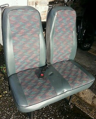 Van Rear Double Seat