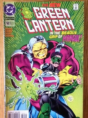 Green Lantern issue 52 (VF) from June 1994 - postage discounts apply
