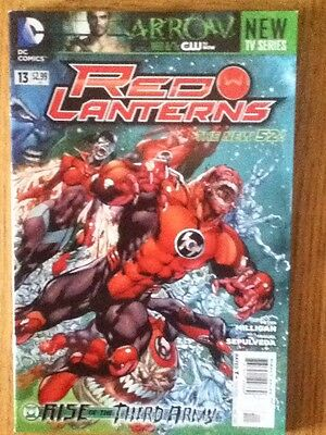 Red Lanterns issue 13 (VF-) from December 2012 - postage discounts apply