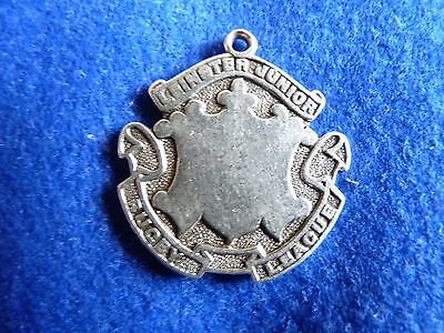 Antique solid silver rugby medal 1907 – Leinster – Ireland – Irish – DA/52D