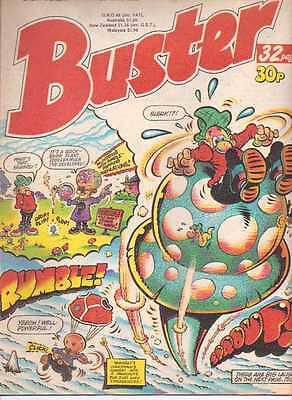 Buster Comic. 13th May 1989