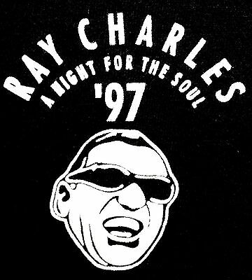 Ray Charles A Night For The Soul Ain't That Love Roberta Flack 1997 Medium Shirt