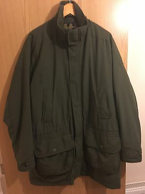 Barbour Linhope shooting jacket Size Large