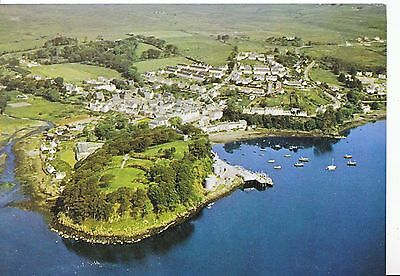 Scotland Postcard - Portree from The Air  AB2523