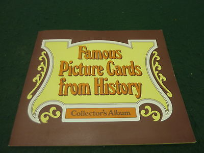 Associated Biscuits Famous Picture Cards From History Complete Card Album