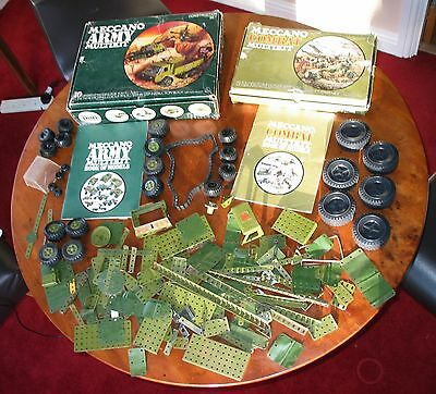 Meccano Military Collection - Army and Combat Multikits + Extras