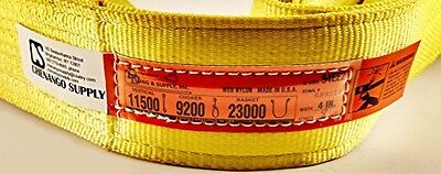 DD Sling. Multiple Sizes In Listing (Made in the USA) 4 x 8', 2 Ply, Nylon Eye