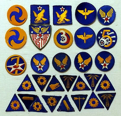 WWII Army Air Force patches