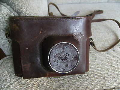 Camera - Russian Fed4 Slr Rangefinder With Case & Strap