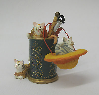 Hat Stand. Home Sweet Home Cat. Peter Fagan, Colour Box.made In Scotland.