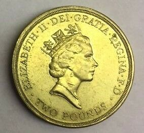 UK 1694 - 1994 £2 COIN 300th Anniversary Bank of England