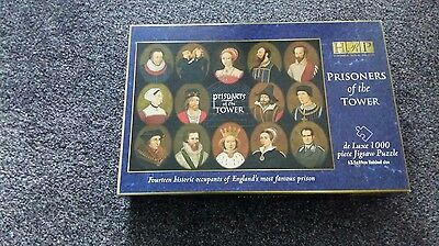 Prisoners Of The Tower (Of London) 1000 Piece Jigsaw Historic Royal Palaces