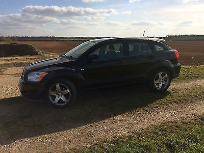 2007 Dodge Caliber Sxt Sport D Black Spares Or Repair Non Runner