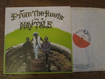 THE MAYTALS FROM THE ROOTS UK TRLS65 LP 1970 1st PRESS ( Toots) Beautiful Copy !