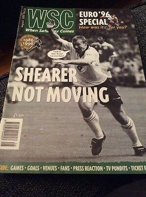 When Saturday Comes Issue 114 August 1996