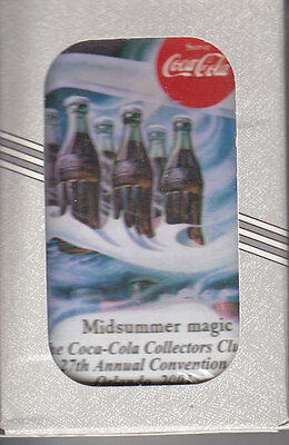 THE COCA-COLA COLLECTORS CLUB Coca-Cola Playing Cards  2001 MINT SEALED DECK