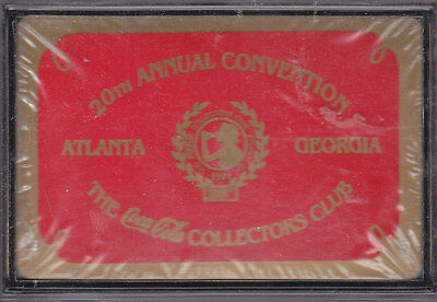 THE COCA-COLA COLLECTORS CLUB, 20th ANNUAL CONVENTION MINT SEALED DECK