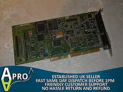 Tested & Working Creative Sound Blaster 16 Ct2230 Isa Card Uk Seller - S