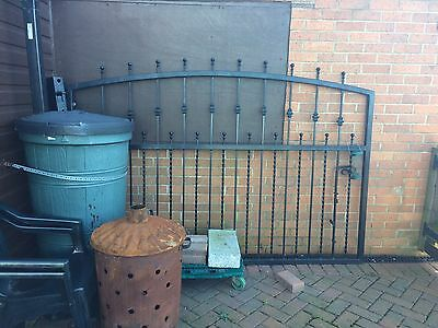 Steel Gate Drive Gate 7foot7 Very Heavy, Was Made To Measure £400