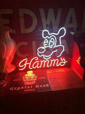 RARE Hamm's Bear Holy Grail Neon Sign Original - Not A New Knock Off Must See