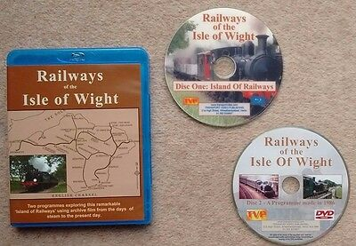 Railways of the Isle of Wight. Blu-ray. Transport Video Publishing