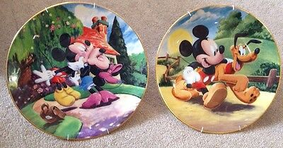 Disney Mickey Mouse Collection By Royal Doulton | Collectors Plates Cartoons