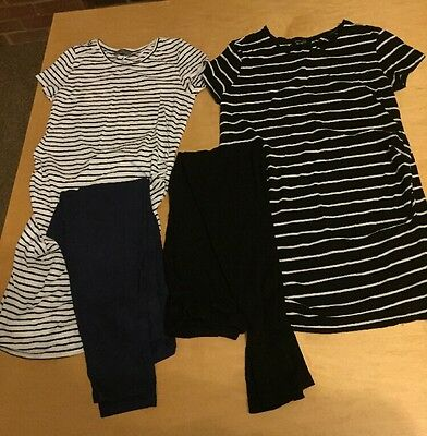 New Look And Boden Maternity Bundle Leggings And Tops