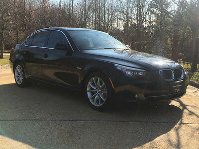 2008 BMW 5-Series  low mile 550 free shipping warranty 2 owner clean carfax loaded v8 luxury