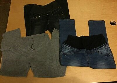 Maternity Jeans, Jogger Bundle H&M Mama And Red Herring Maternity Size 12