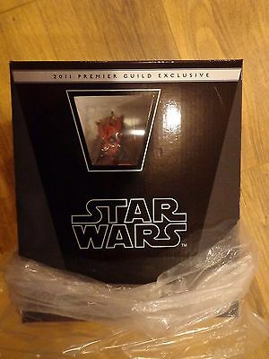 STAR WARS GENTLE GIANT Darth Maul 2011 PGM Exclusive mini bust