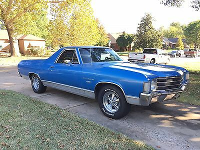 1972 Chevrolet El Camino  1972 Chevrolet El Camino Chevy Automatic New paint, no typical rust. A/C
