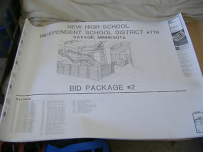 Bid Package for a High School Electrical Plan - for reference purposes