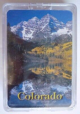 Souvenir Playing Cards Colorado  SEALED