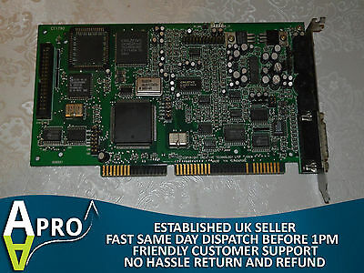 Tested & Working Creative Sound Blaster 16 Ct1790 Isa Sound Card Uk Seller - S