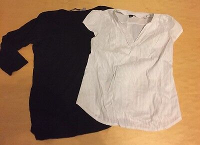 H&M Mama New Look Maternity Top Bundle Size 12-14