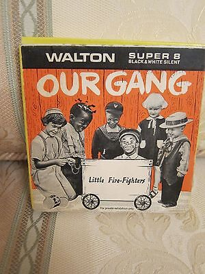 Vintage Super 8mm OUR GANG Little Fire-Fighters (Walton) Collectable Scarce