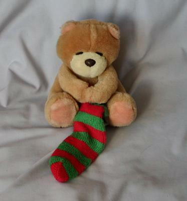 Forever Friends Bear with Stocking