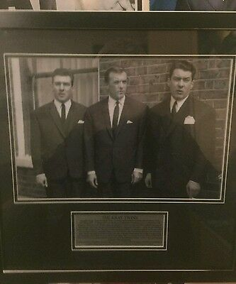 The Krays Framed Photo and Plaque