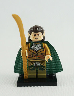 Minifigures Elrond Lord of the Rings New The Hobbit Hugo Weaving Building Toys