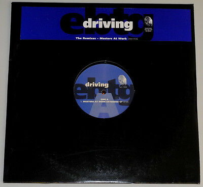"""★★2 x 12"""" DE**EVERYTHING BUT THE GIRL - DRIVING (THE REMIXES) (PROMO)★★10415"""