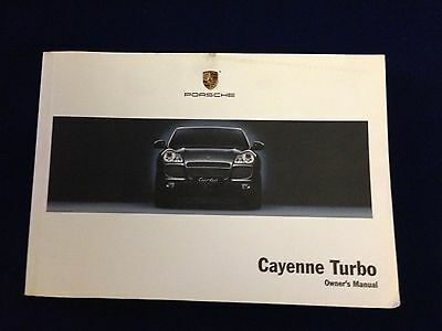 2006 Porsche Cayenne Turbo Owners Manual
