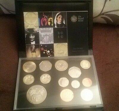 2010 royal mint proof coin set