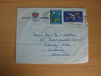 South Africa Aerogramme 1969 used