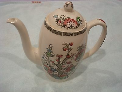 Lovely Johnson Bros Indian tree pattern coffee pot superb condition
