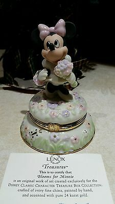 """Lenox Treasure Box Collection """" Blooms For Minnie """""""
