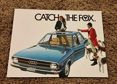 1974 Audi Fox Sales Brochure