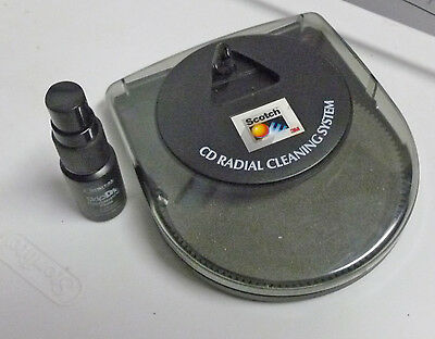 Scotch CD Radial Disc-Cleaning Machine