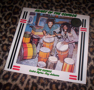 CONGOS ~ HEART OF THE CONGOS. 1980 UK orig Go-feet LP. M. The Beat.