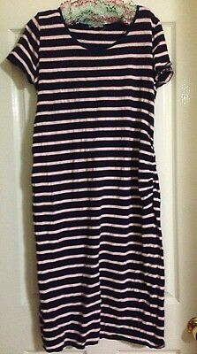 Target Maternity Blue White And Red Tank Dress
